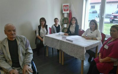 Seniorzy również czynnie biorą udział w wyborach samorządowych