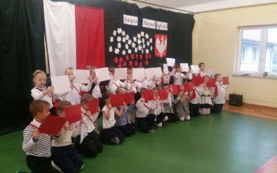 Święto Niepodległości- przedszkolaki z Różnowa
